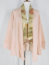 One-Of-A-Kind Assorted Kimono Obi Jacket - Pink - S/M