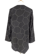 One-Of-A-Kind Assorted Kimono SIlk Jacket - Black