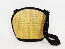 Tatami Style Clamshell Bag - Natural
