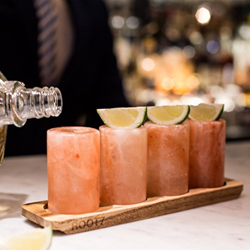 Himalayan Salt Shot Glasses 4 Pack