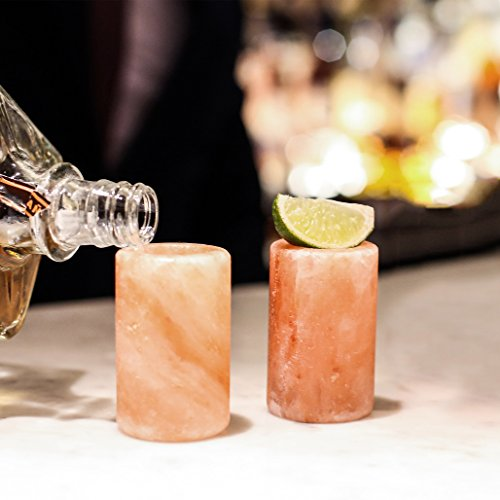 Himalayan Salt Shot Glasses 2 pack