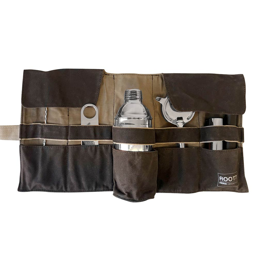 Cocktail Bag and Silver Tools Root7