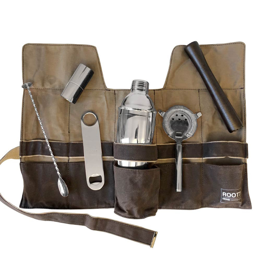 Cocktail Bag and Silver Tools