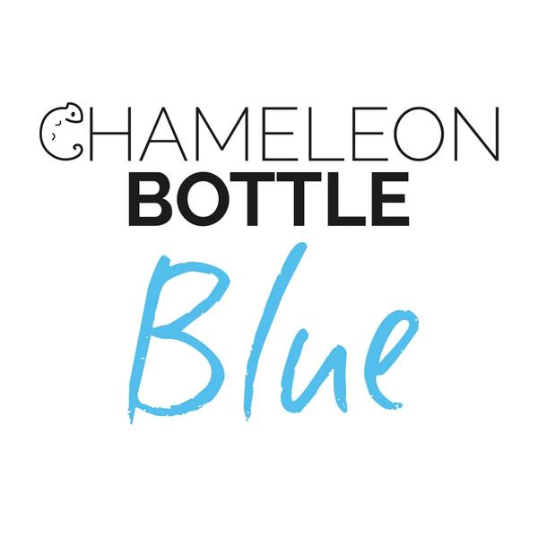 The Chameleon Bottle Blue