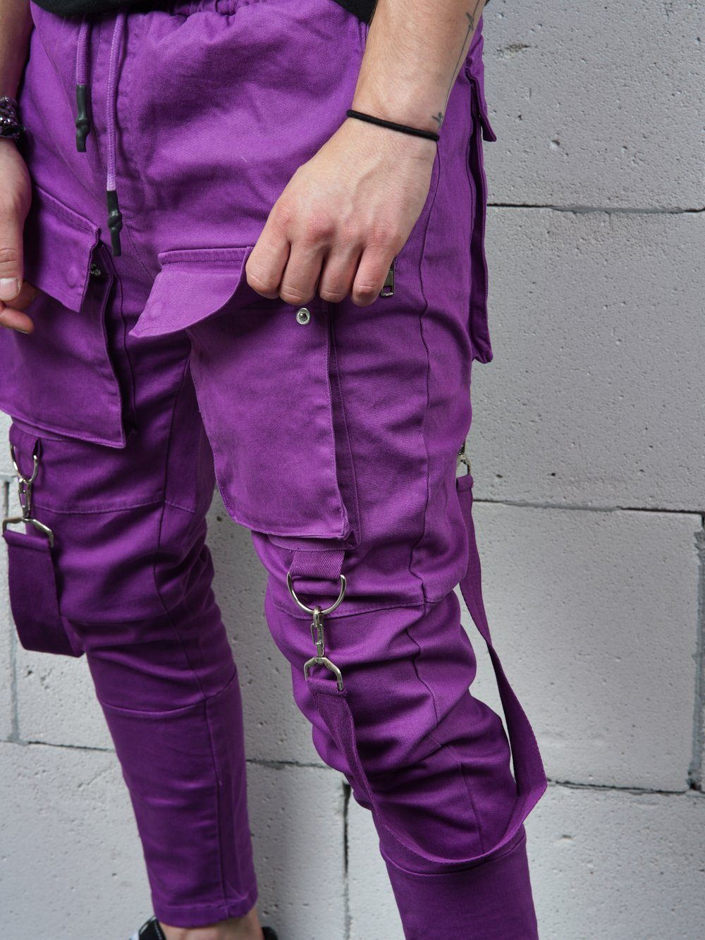 PURPLE BRONX Jeans Sernes-King