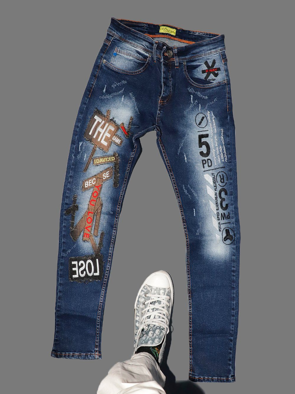 THE GAME Jeans-b SERNES-X