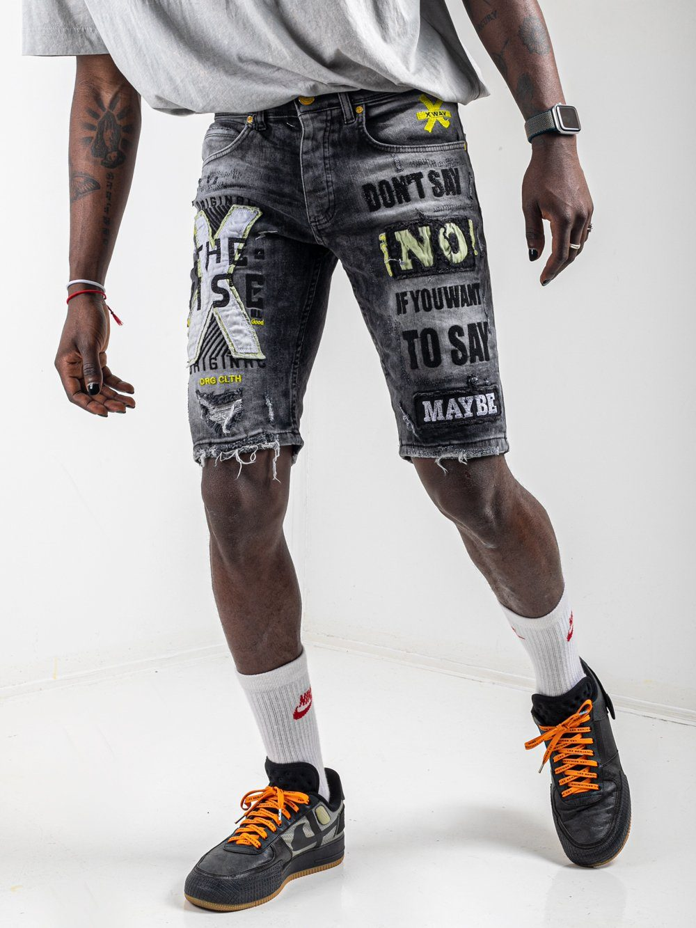 BATTLE Shorts SERNES-X
