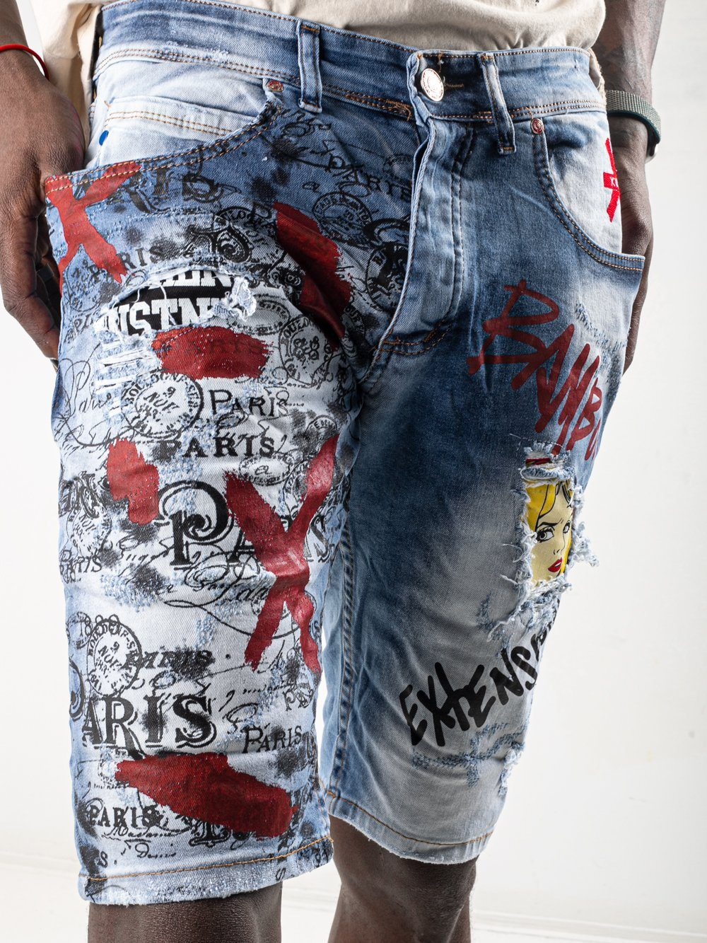 CLOUD BANKSY Shorts SERNES-X