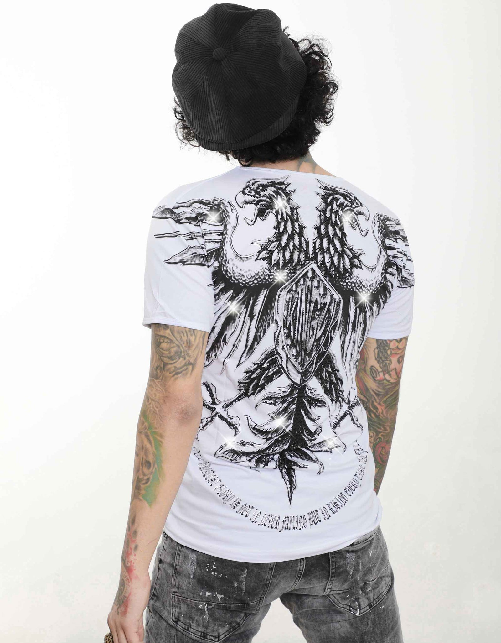 DOUBLE HEADED EAGLE T-Shirt SERNES-KINGZ