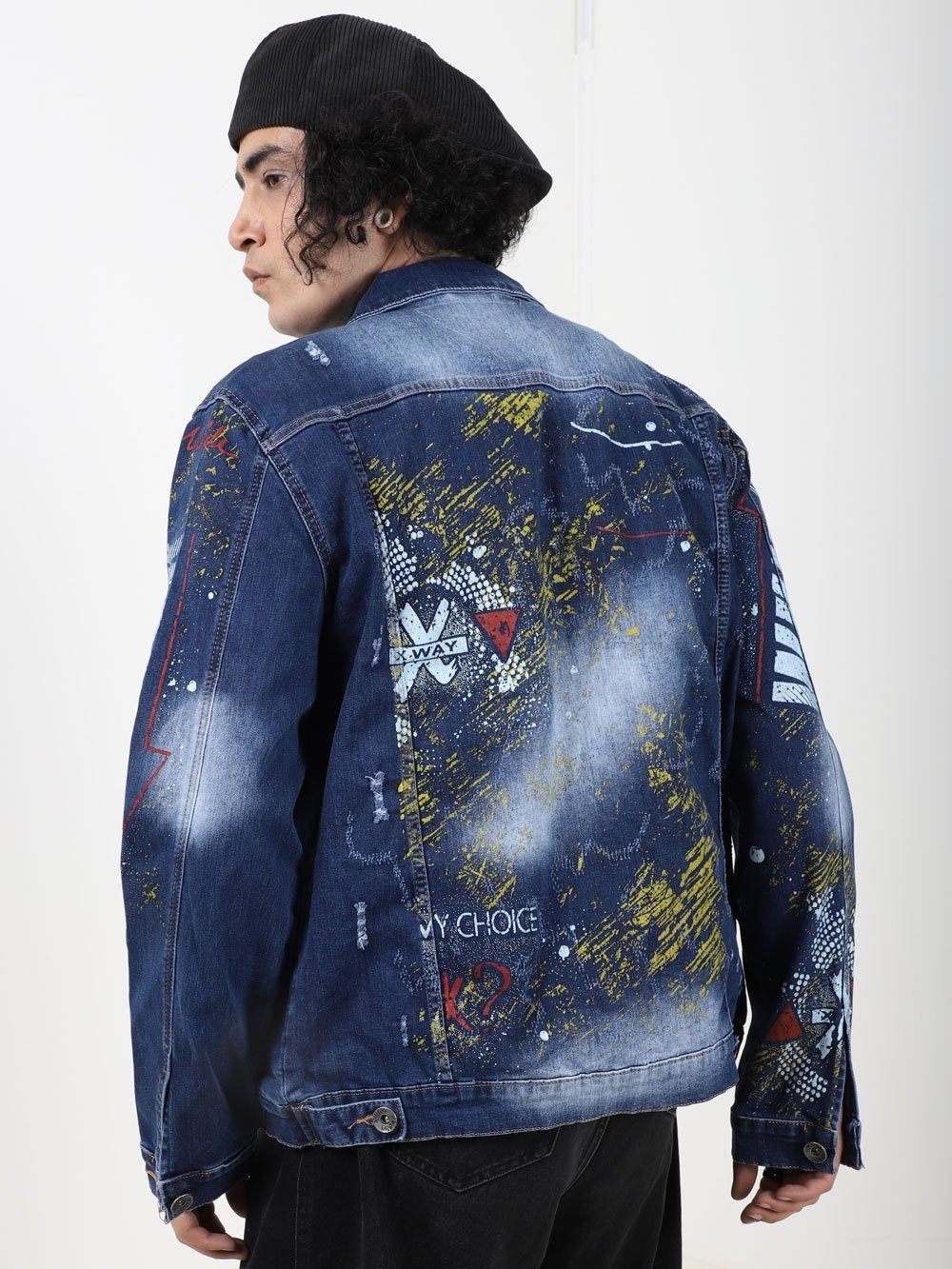 OLD PAINTING Jacket SERNES-X