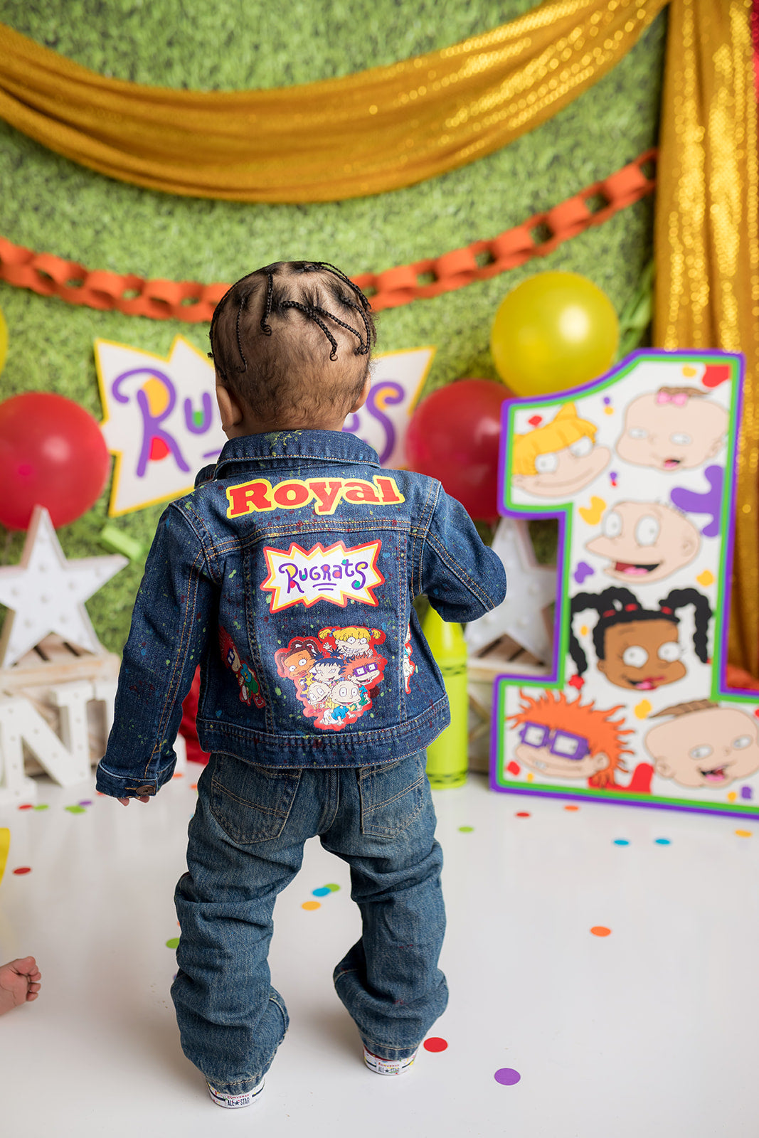 Rugrats Denim Set-Boys Rugrats denim set-Rugrats Birthday outfit-Rugrats boys outfit