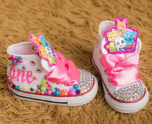 Word Party shoes- Word Party bling Converse-Word Party Shoes-