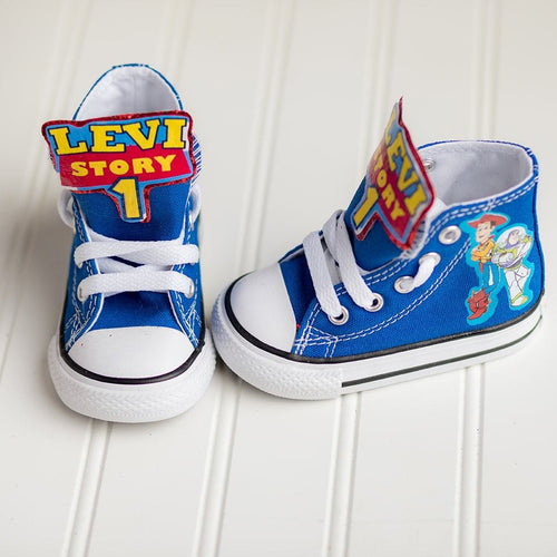 Toy Story shoes-Toy Story Converse-Boys Toy Story Shoes