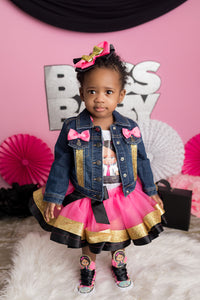 Boss Baby tutu set-Boss Baby outfit-Boss Baby dress