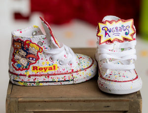 Rugrats shoes- Rugrats Converse-Boys rugrats Shoes