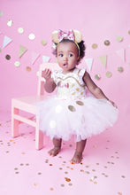 Pink and gold Minnie Mouse Tutu dress- Pink Minnie Mouse dress-Pink and Gold minnie mouse dress