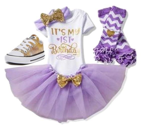 1st Birthday tutu set-(Purple)-First Birthday tutu set