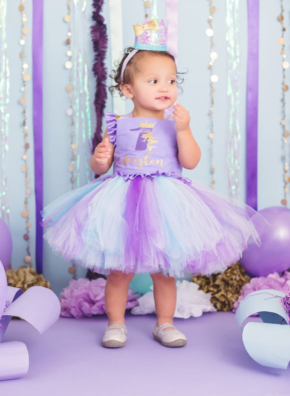 Mermaid Birthday Dress- mermaid dress- mermaid costume -mermaid Tutu-mermaid birthday dress-mermaid