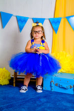 Minion birthday Dress- Minion Tutu Dress-Minion Birthday