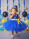 Minion dress-despicable me tutu dress- Minion tutu dress-minion costume-minion outfit