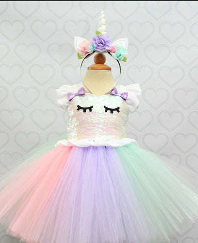 Unicorn dress-unicorn tutu dress-unicorn birthday dress-unicorn tutu-unicorn outfit-white sparkle