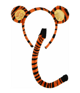 Tigger Headband and tail-Made to match dress