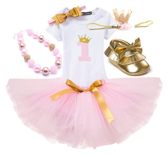1st Birthday tutu set- Cake Smash tutu set(crown)