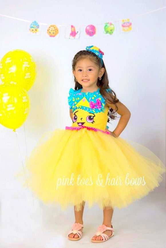 Shopkins tutu dress- shopkins costume- Cupcake Queen Dress
