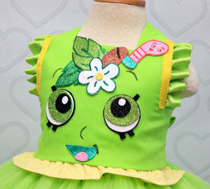 Shopkins dress- shopkins costume- shopkins tutu-Apple Blossom costume-Apple blossom dress