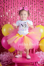 Load image into Gallery viewer, Baby minnie Mouse tutu Set