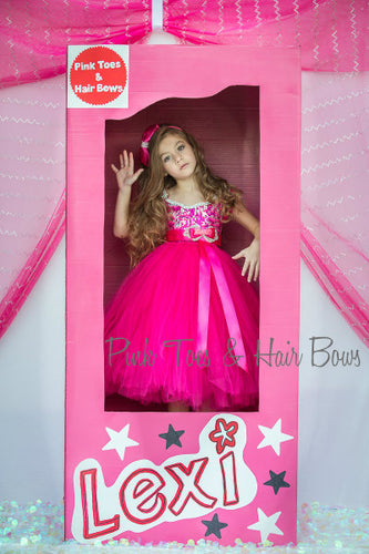 Princess Barbie Dress- Barbie tutu dress- Barbie Dress