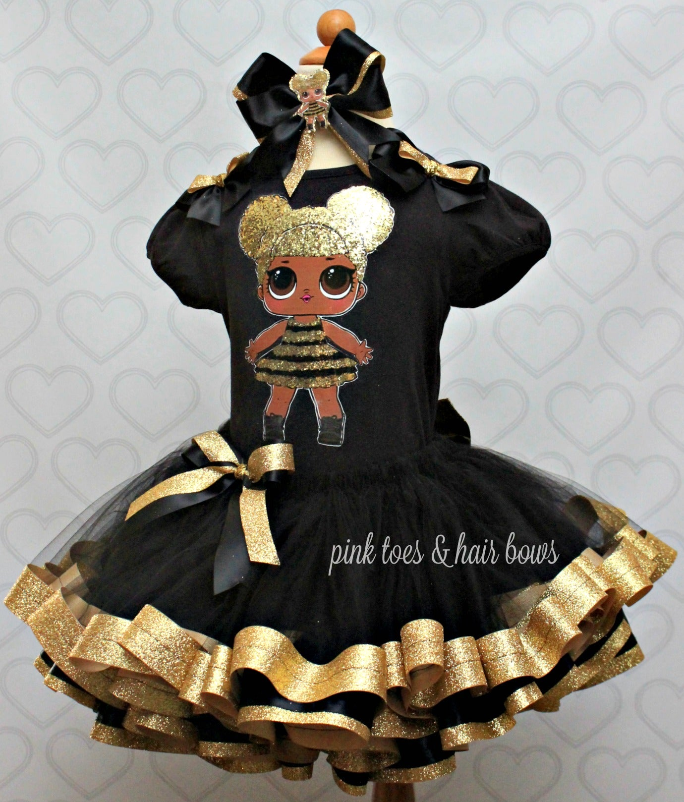 Queen Bee Lol Surprise Doll Tutu Set Queen Bee Lol