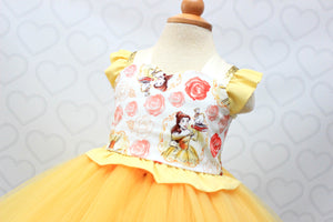 Belle Dress- Beauty and the Beast Dress