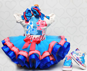 Blues Clues shoes- Blues Clues bling Converse-Girls Blues Clues Shoes-Blues Clues Converse