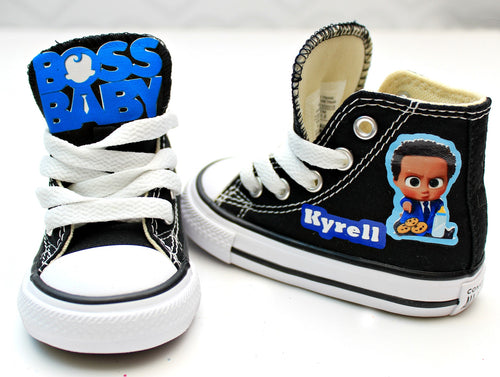Boss Baby shoes-Boss Baby Converse-Boys Boss Baby Shoes