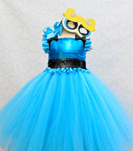 Powerpuff girl costume- powerpuff girl tutu costume- powerpuff costume dress- Powerpuff girl dress-powerpuff girl tutu-Bubbles Costume