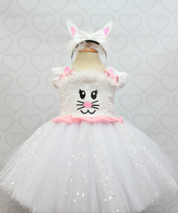 Easter Dress-Easter Bunny Dress-Easter Tutu Dress