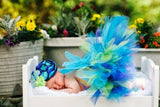 Baby Butterfly in the Garden-newborn tutu set