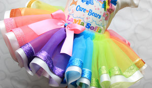 Care Bears tutu set-Care Bears outfit-Care Bears dress