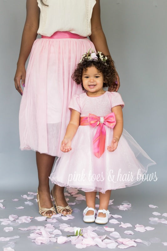 Princess in Pink Dress-Ready to ship