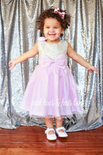 Load image into Gallery viewer, Pretty in Pink Sequin Dress-Ready to ship