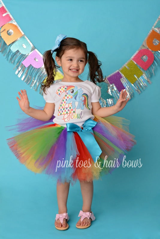Rainbow Dash Tutu Set