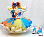 Load image into Gallery viewer, Dave and Ava tutu set-Dave and Ava outfit-Dave and Ava dress