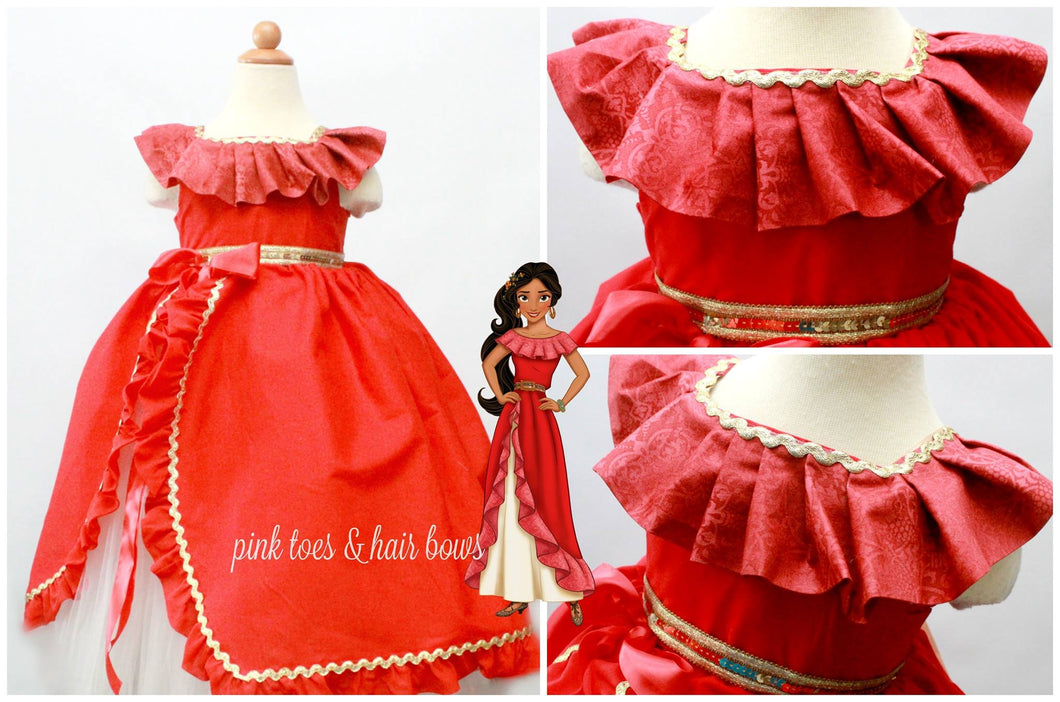 Elena of Avalor tutu Dress