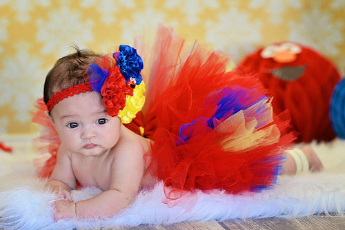 Elmo Sesame Street Infant tutu Set