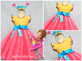 Fancy Nancy Dress-Fancy Nancy costume- Fancy nancy tutu- Fancy Nancy tutu dress