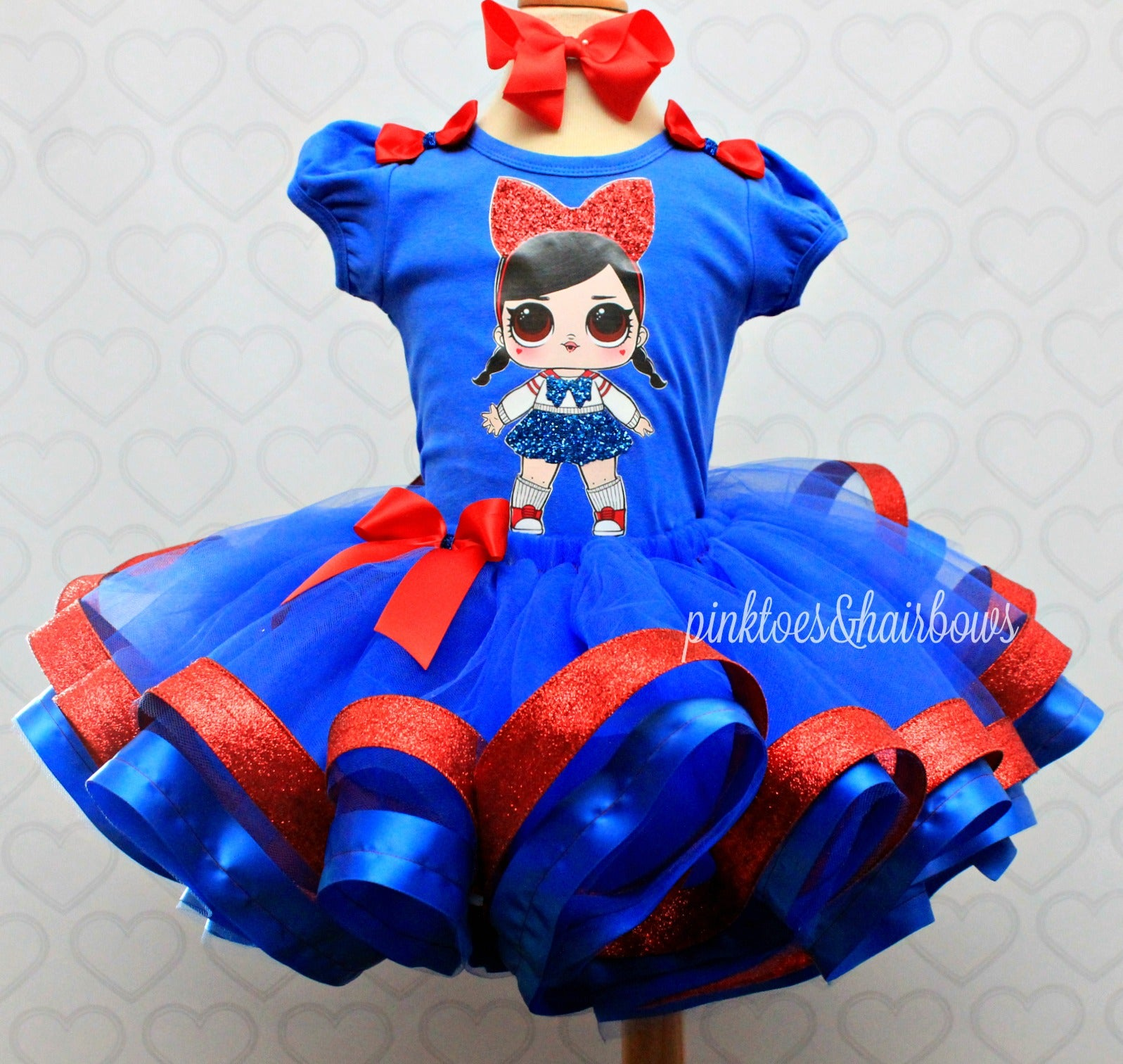 Fanime Lol surprise doll tutu set-lol surprise outfit- lol surprise dress