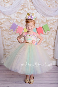 Easter Dress-Shabby Chic Easter Dress-Easter tutu dress
