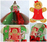 Gingerbread Cutie Christmas Dress