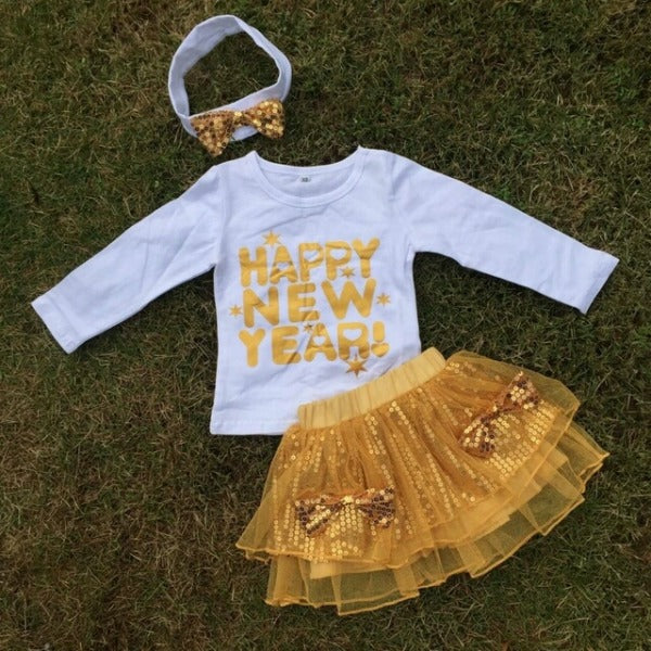 Happy New Year Gold Set(ready to ship)